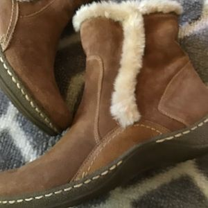 Ellea short leather boots 11 m